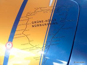 Photo: Streckenplan der grünen Hölle
