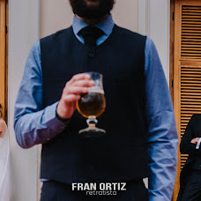 Wedding photographer Fran Ortiz (franortiz). Photo of 27.03.2018