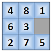 8 Puzzle and 15 Puzzle Solver