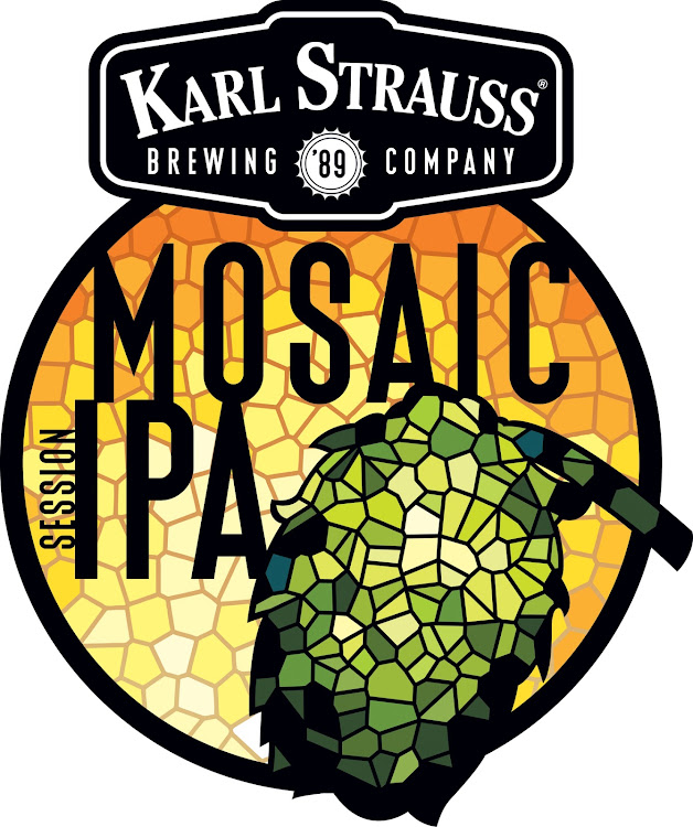Logo of Karl Strauss Mosaic Session IPA