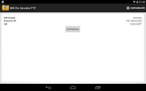 WiFi Pro Servidor FTP 5