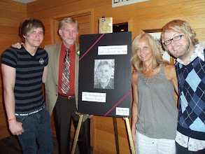 Photo: Joel Guberud and some of the members of his family