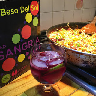 Spanish Summer Paella with Beso Del Sol® Sangria Recipe