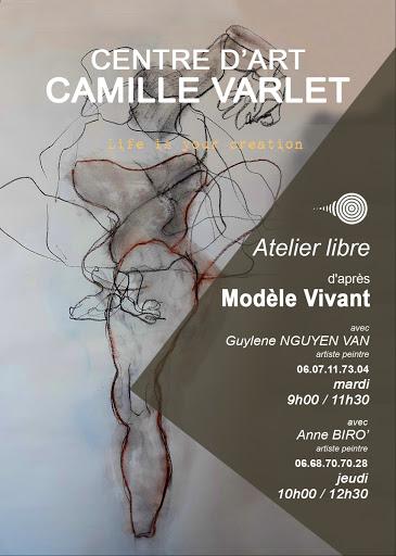 MODELE VIVANT les autres cours du CENTRE D'ART CAMILLE VARLET