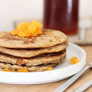 Whole Wheat Honey Apricot Pancakes