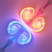App Icon for Fluid Simulation - Trippy Stress Reliever App in United States Play Store