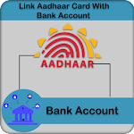 Link Aadhar Card with Bank Account Icon