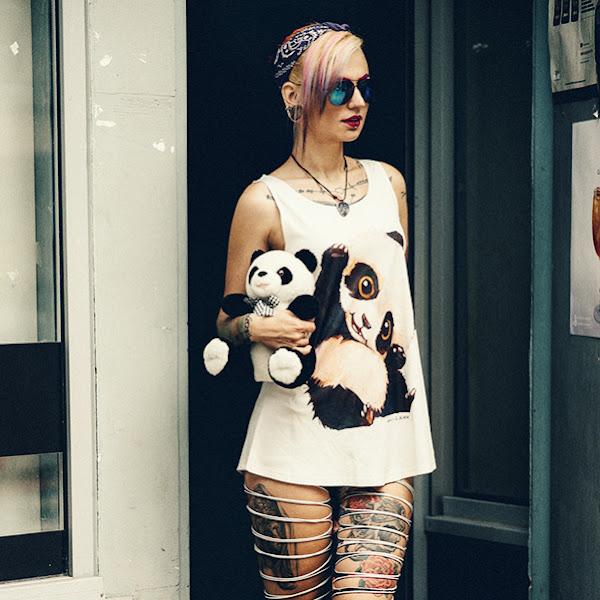 OOTD Dell: Cute Panda