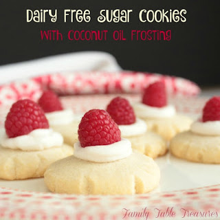 Dairy Free Sugar Cookies {with Coconut Oil Frosting}.