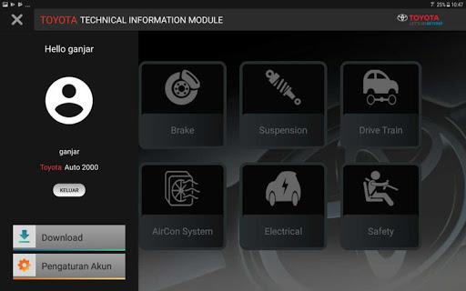 TOYOTA Technical Information Modul screenshot 3
