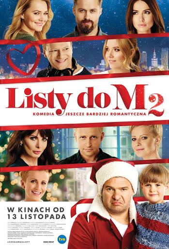 Polski plakat filmu 'Listy Do M. 2'