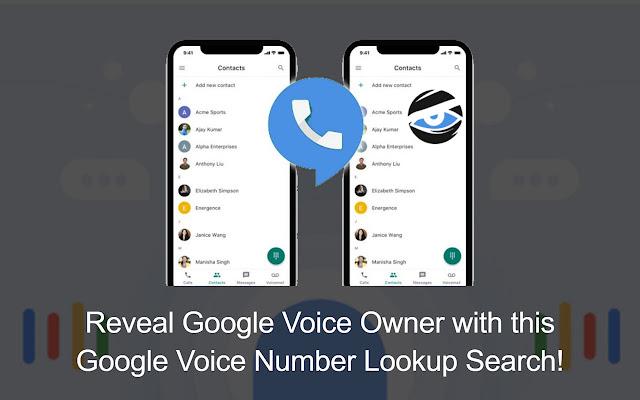 Google Voice Number Lookup