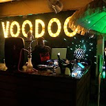 new VOODOO bar on Ocean Drive in Miami, Florida, United States