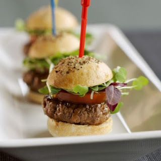 Mini Burgers.
