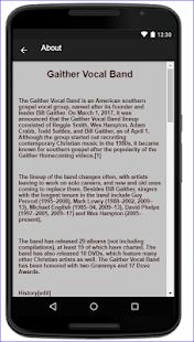 Gaither Vocal Band Music Lyric - náhled