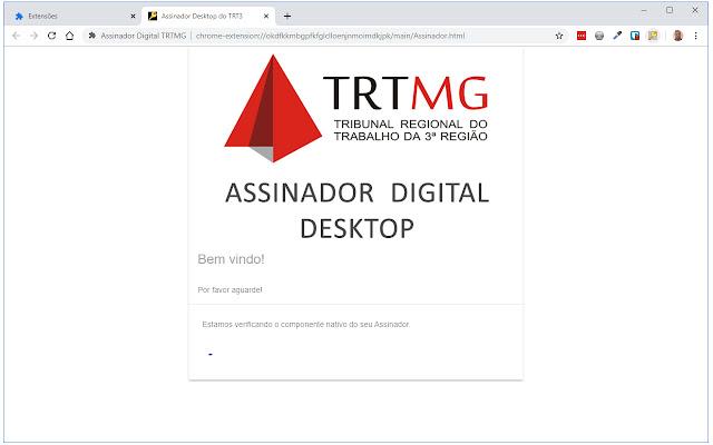 Assinador Digital TRTMG