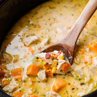 Slow Cooker Chicken Corn Chowder Recipes.