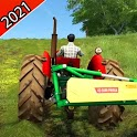 Village Tractor Driving Simulator 3D 2021 icon