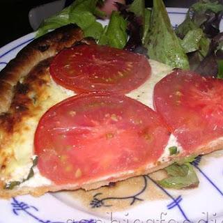 Ricotta & Tomato Quiche