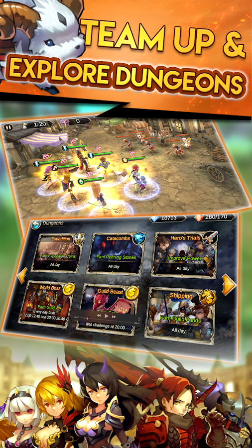Final Clash: 3D FANTASY MMORPG- screenshot