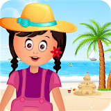 Family beach Trip Kids Game for kindle fire
