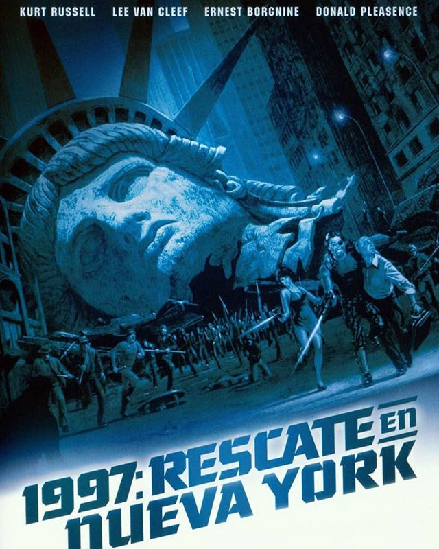 1997: Rescate en Nueva York (1981, John Carpenter)