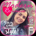 Valentine Magazine Cover App icon