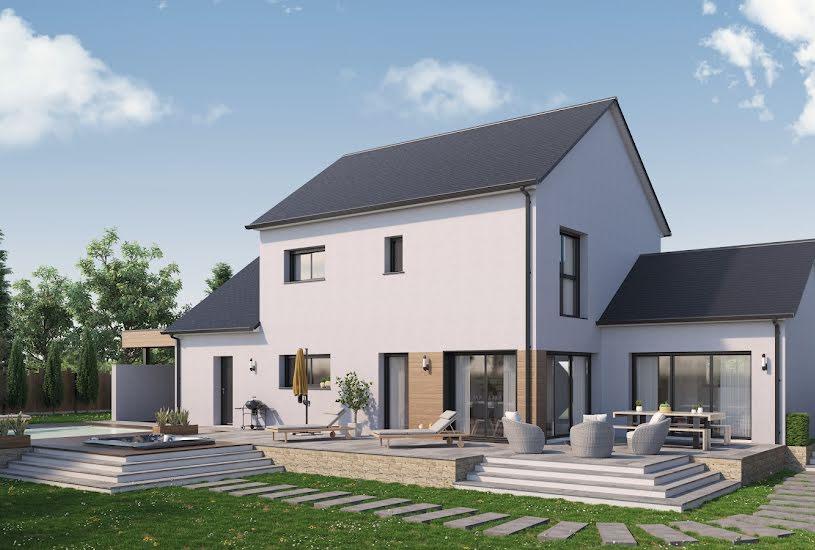 Vente Terrain + Maison - Terrain : 565m² - Maison : 145m² à Nivillac (56130)