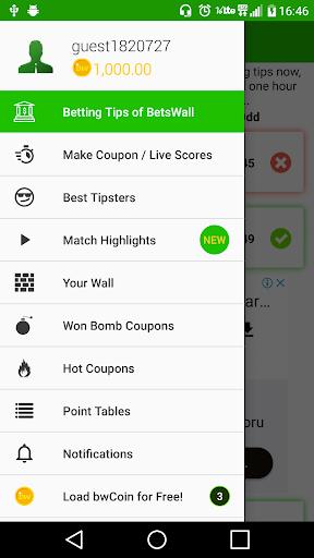 BetsWall Sports Betting Tips and Coupon Sharing 1.45 screenshots 2