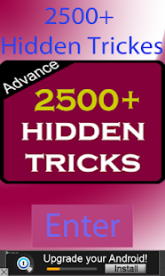 Free 2500+ Hidden Tricks APK for Android
