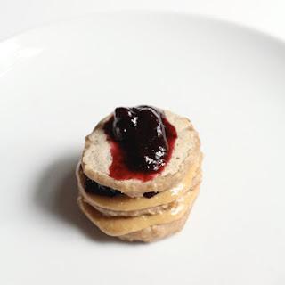 Mini PB&J Pancake Stacks Recipe