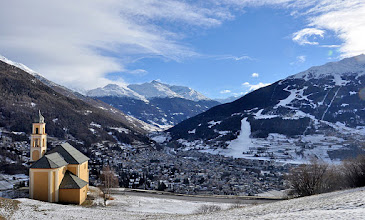 Photo: Panorama su Bormio e la Valfurva da 'La Madona' di Oga [by Fausto COMPAGNONI - thanks!]