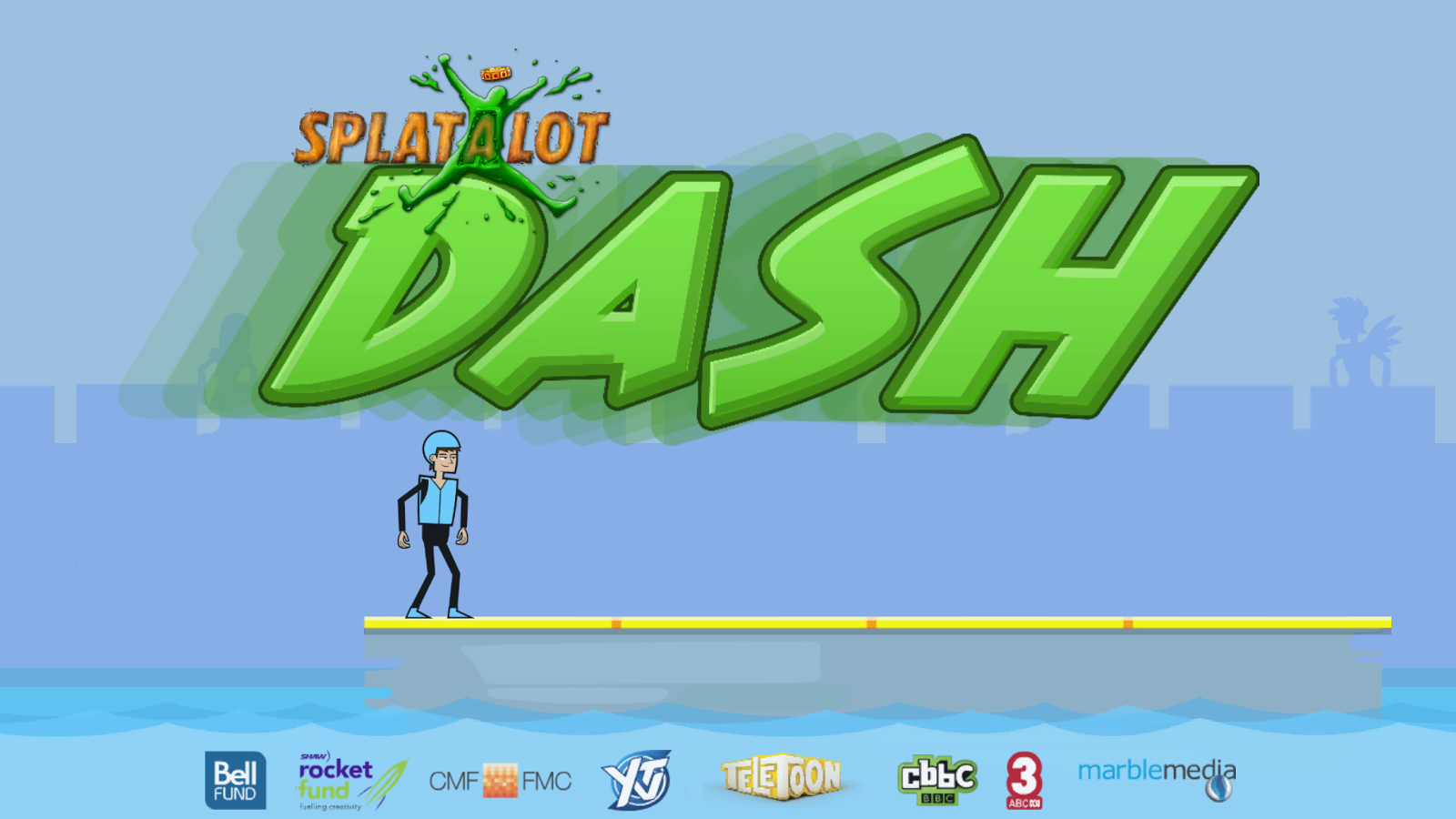 Splatalot Dash!- screenshot