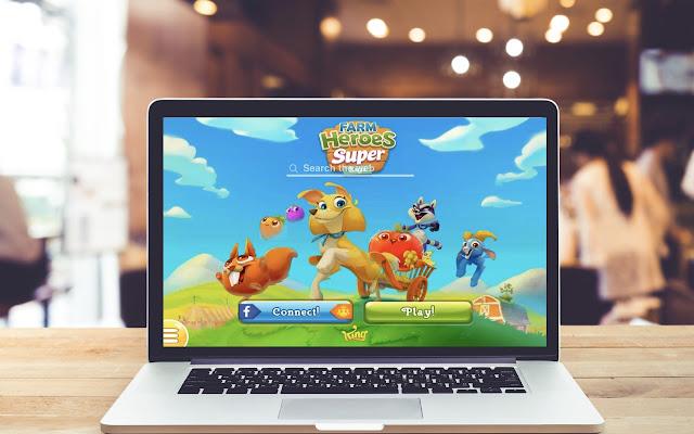 Farm Heroes Super Saga Wallpapers Game Theme