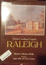 Photo: a book I picked up today at the bookstore - i have a genealogical interest in Raleigh :-)