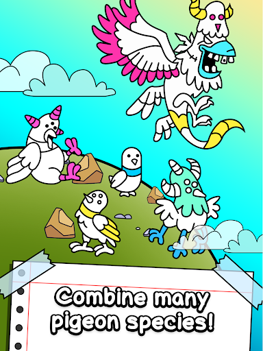 Pigeon Evolution - Merge & Create Mutant Birds 1.0.1 screenshots 11