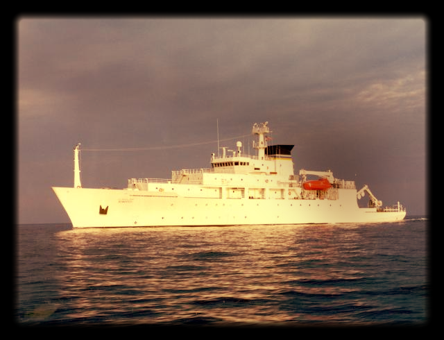 The USNS Bowditch, an oceanographic survey ship, is seen in this undated U.S. Navy handout photo. Picture: VIA REUTERS