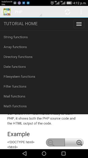 W3Schools Offline FullTutorial 3.8 screenshots 4
