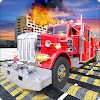 Fire Fighter Truck: Speed Bump Car Crash Test APK