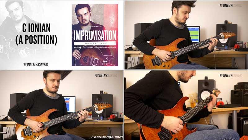Martin Miller - Improvisation Masterclass Volume 1