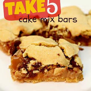 Take 5 Cake Mix Bars.
