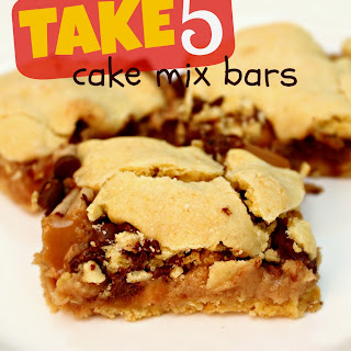 Take 5 Cake Mix Bars.