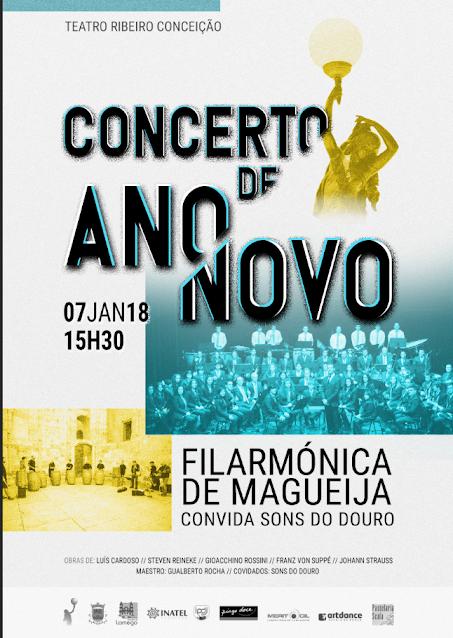 Teatro Ribeiro Conceição apresenta Concerto de Ano Novo