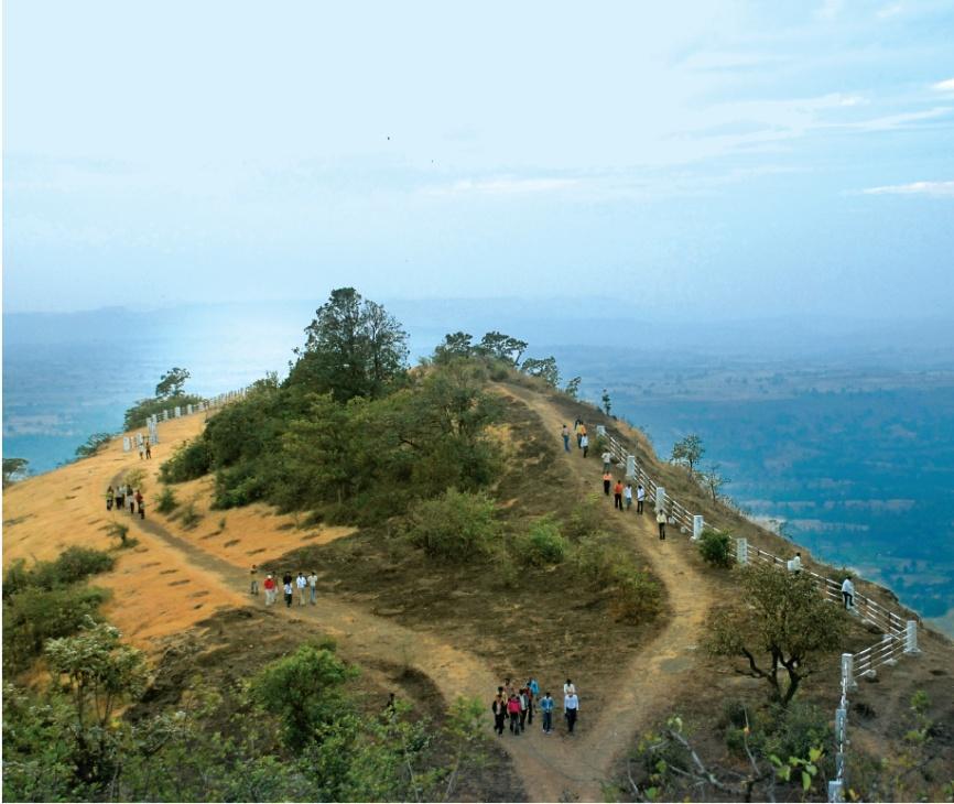 Trekking camp in Satpura