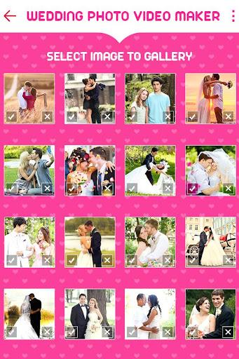 Wedding Photo to Video Maker with Music screenshots 1