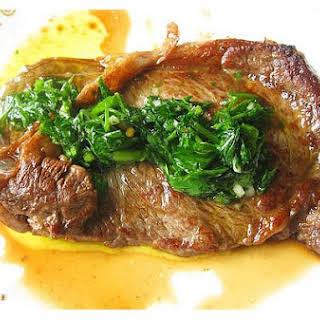 Chimichurri Steak.