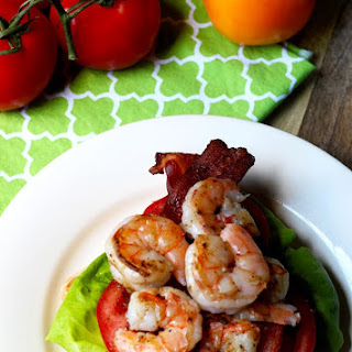 Grilled Shrimp BLT Panini with Herb Aioli