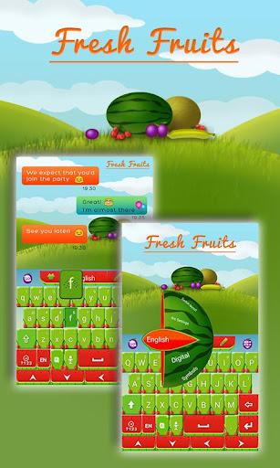 新鮮水果鍵盤 個人化 App-愛順發玩APP