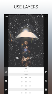 Just Snow – Efek Foto Screenshot