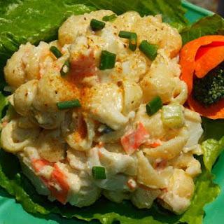 Crab/Seafood Pasta Salad Recipe
